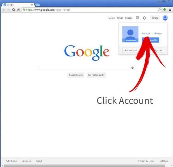Click Account